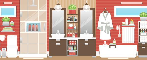 Bathroom renovation infographic
