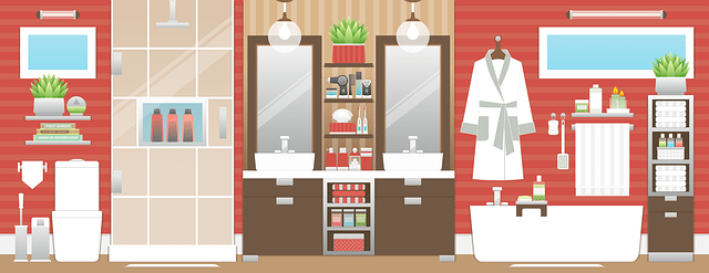 Bathroom renovation infographic