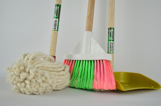 Cleaning equipment broom
