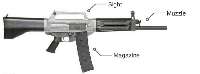 PUBG Shotgun