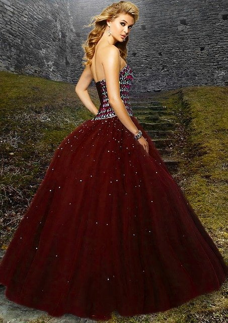 Evening Gown for Girls